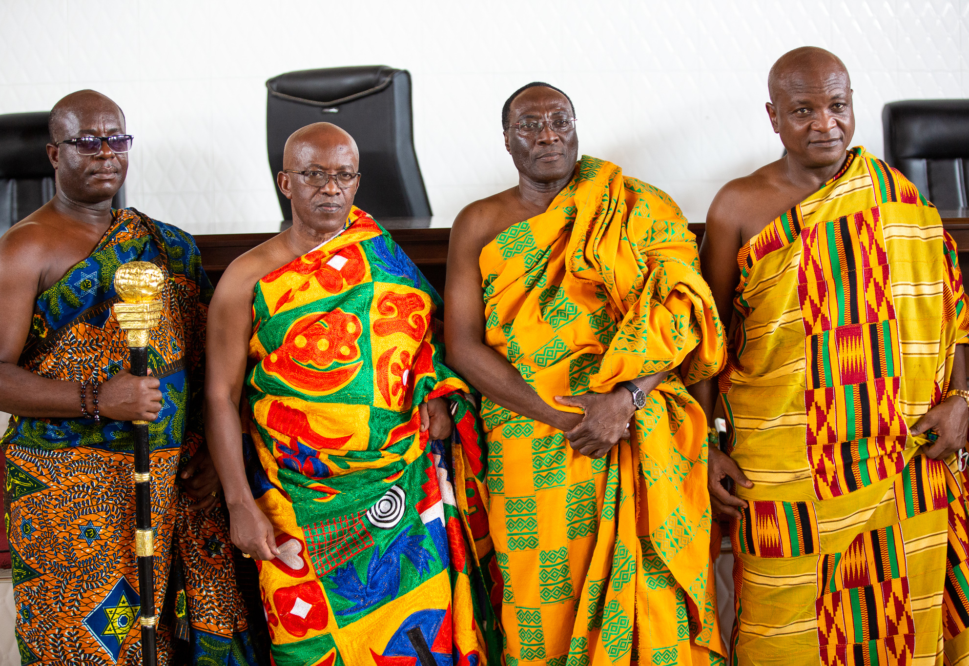 Photos - Volta Regional House of Chiefs - Election of President (October 15, 2020)